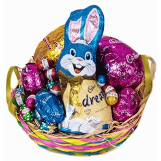 Easter hampers easter gift baskets delivered australia wide kids easter delight easter hamper negle Images